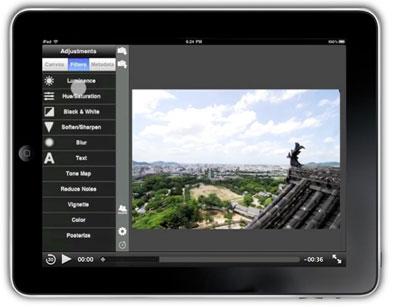 Edición de fotografía en iPad