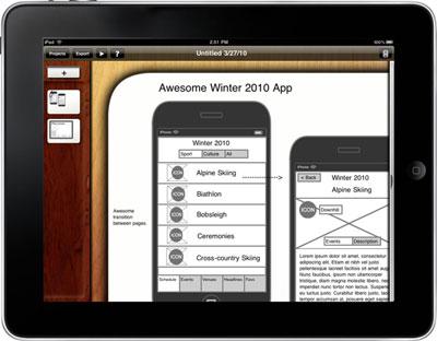 Diseño de interfaces en iPad