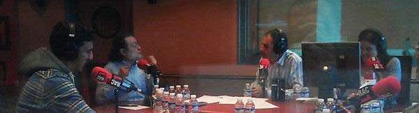 Entrevista a Josef Ajram con Santiago Niño Becerra en Versió RAC1 de Toni Clapés